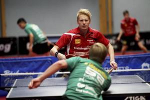 Hampus Nordberg föll mot Hampus Söderlund, och vann mot Wu Jiaji.