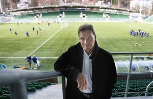 Mikael Torstensson är ordförande i Sundsvalls DFF. Bild: Therese Ny