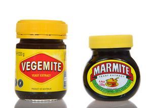 Engelsk Marmite eller australiensk Vegenite har båda en märklig smak.