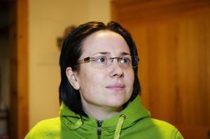 Johanna Sjöblom, Kramfors :– Det är min rättighet, och det är viktigt att ta sitt ansvar för demokratin.
