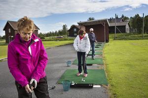 Agneta Olsson, Carin Westlund, Jan Christer Johansson slår på rangen.
