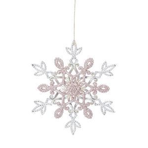Håller sig vit även när slasket kommer. Förslag: Köp flera och häng som en mobil. Glittrande snöflinga, 39 kronor på Åhléns.