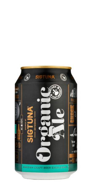 God ekologisk ale från Sigtuna-bryggeriet.