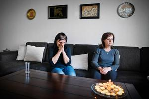 Sabah Elia och hennes syster Samira Elia när LT träffade dem i februari.