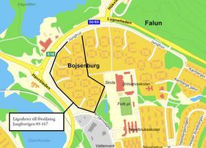 Knappt hälften av alla lägenheterna, Jungfruvägen 89-167, avyttras för att frigöra kapital för nyproduktion.