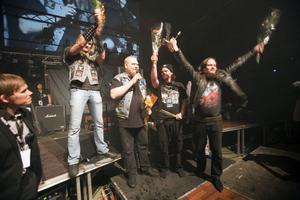 Metalbandet Sorcery fick pris 2010 för årets konsert efter deras spelning på Bryggeriet metal club.