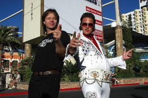 Viva Las Vegas. Men inte ens Elvis kunde hjälpa Peder Johansson till prispallen i chopperbyggar-VM.
