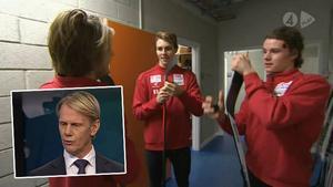 Niklas Wikegård gillade inte vad han såg av Modos juniorer inför matchen mot Växjö.