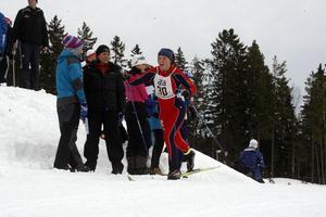 Monica Wiklund, Hybo, var femma i kvartsfinalen.