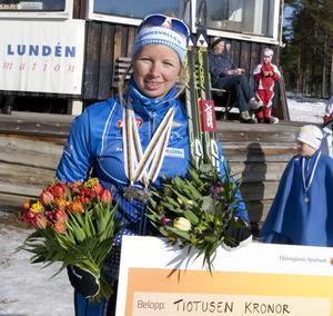 Evelina Settlin får chansen i världscupsspåren.