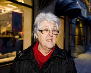 – Det är bara ett måste. Jag är penionär och behöver inte gå till jobbet så jag får ligga kvar om jag vill. Men jag blir inte piggare av att ligga kvar, så man måste skärpa sig och kliva upp.Astrid Söderholm, 65+, penionär, Sundsvall.