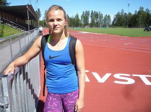 Nikki Sjöberg ägnar sommaren åt träning, och åter träning.