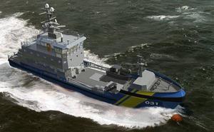 Kustbevakningens båt KBV 031  deltog i sökandet/Arkivbild