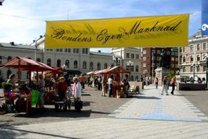 För fjärde året i rad var det dags för Bondens marknad i Sundsvall.