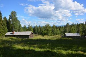 Fäbodarna i Granbodåsen är bland länets bäst bevarade.