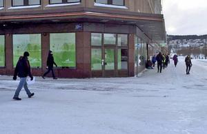 På Sjögatan försvann bankomaten när SE-banken flyttade.