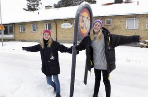 Ett medborgarförslag från eleverna Wilma Andersson och Esmeralda Engberg vid Freinetskolan Tallbacken ligger som grund till att trafikmiljön kring deras skola nu kommer att bli säkrare. – De känns bra att politikerna lyssnade på oss, säger flickorna.