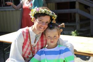 Madelein Böhnke med sonnen Eric.
