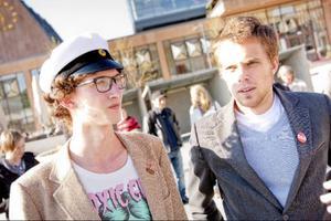 Mathias Christensen och Anton Åvall fanns på plats från SSU.