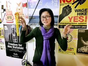E-Ling Chiu, generalsekreterare i Taiwans förbund för mänskliga rättigheter. Hon hoppas på en mer restriktiv tillämpning av dödsstraffet och att det så småningom avskaffas helt.