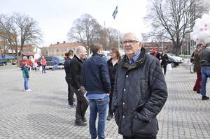 Lasse Holst har i nästan 60 års tid demonstrerat på 1 maj.
