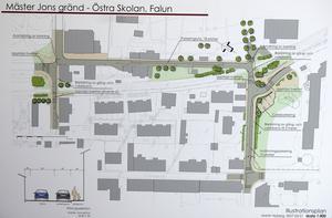 Öppnas. Mäster jons gränd öppnas för enkelriktad trafik förbi Östra skolan. Barnens säkerhet har högprioriterats i planeringen.