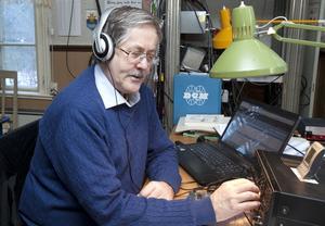 Ronny Forslund, författare till DX-boken.