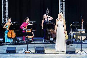 Ernman inledde med opera, arior av Händel och Vivaldi.