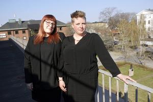 Ombudsmannen Anette Olsson och assistenten Jessica Larsson på Hotell- och restaurangfacket i Gävle tycker att Arbetsförmedlingen allt oftare struntar i vad facket tycker.