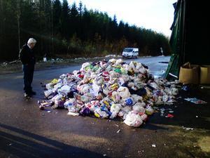 På Sollefteås landsbygd där analysen genomfördes i år slänger invånarna i genomsnitt 5,86 kilo avfall i soporna per hushåll och vecka. I Sverige ligger den siffran på 8,13 kilo. I Sollefteå ingick 215 hushåll i analysen.