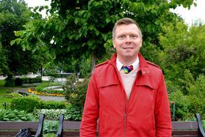 Per Nylén (S) vill jobba på att få bort Örnsköldsviks stämpel om att vara en stad dålig på mångfald.