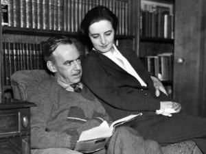 Eugene O'Neill, här tillsammans med hustrun Carlotta Monterey. Arkivbild.