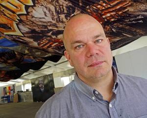 Krister Lundholm är medgrundare till Sabaton Open Air och han de är glada och stolta över att begravningsbyrån är en samarbetspartner på årets festival. Foto: Arkiv