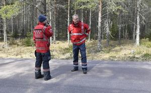 Räddningschef Johan Szymanski och ställföreträdande räddningschef Per-Erik Jonsson.