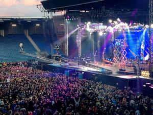 Kiss-konsert i Stavanger, Norge.