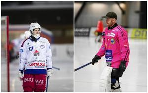 Johan Sundqvist och Henrik Rehnvall. Foto: Arkiv