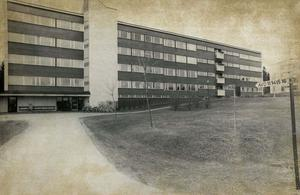 Hälsinge sjukhus år 1973.