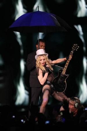 Popdrottningen Madonna uppträder på Ullevi i Göteborg den 8 och 9 augusti. Foto: Ricardo Moraes/Scanpix