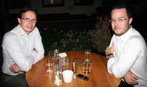 Tabazco. Fredrik och Jan