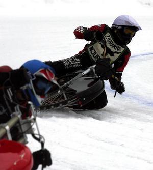 Norges enda isracingförare idag, Jo Saetre. Här under sin tid i Tjurarna från Njurunda.