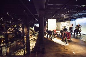 Utställningen Rajden går hänger samman med Jamtlis fasta utställning.