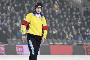 Roland Fager dömde SM-finalen mellan Västerås SK och Villa Lidköping förra året.