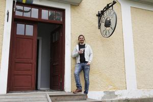 Erik Nordin kommer att driva verksamheten och öppnar upp så snabbt som möjligt.