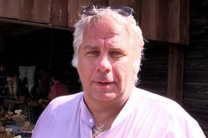 Arrangören och kakälskaren Per Bergvall satte gärna tänderna i chokladkakor eller kakor med glasyr.