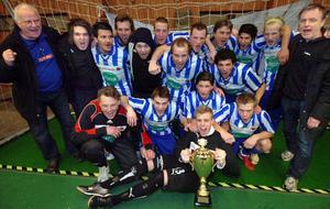 Trönö IK, nykomling i trean, visade klassen i en perfekt genomförd final i jubilerande Ljusnan Cup.
