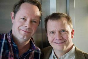 Lars Lundström (manus) och Harald Hamrell (regi) har samarbetat tätt och ser