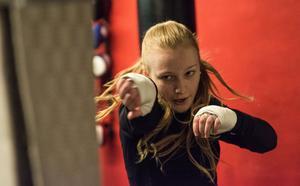 Elise Saulescu har nu gjort sista träningen på BK Swing inför Oslomatchen