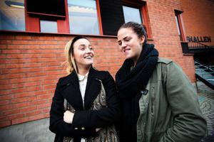 Jennifer Korsgren, 17, från Brunflo, och Ida Hagström, 17, från Hammerdal, tycker båda att det är viktigt att sköta om tänderna.