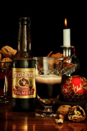 Även fatlagrad. Förra året lanserade Spendrups en fatlagrad julmust som även finns att köpa i år.