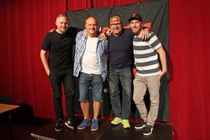 Sebastian Andersson, Stefan Söderblom, Hans Carstenssen och Mathias Heldevik är taggade.